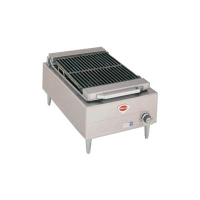 "Wells B-44 20"" Radiant Charbroiler w/ Cast Iron Grate, 240v/3ph"