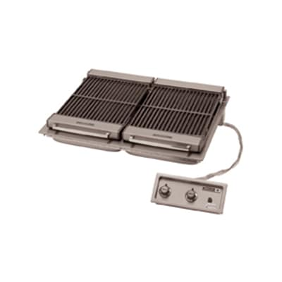 """Wells B-506 36"""" Built In Charbroiler w/ Cast Iron Grate, 208v/3ph"""