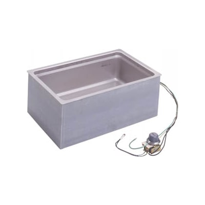 Wells BMW-206RT Drop-In Hot Food Well w/ (1) Full Size Pan Capacity, 208/240v/1ph