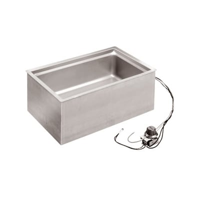 Wells BMW-206ST Drop-In Hot Food Well w/ (1) Full Size Pan Capacity, 208/240v/1ph