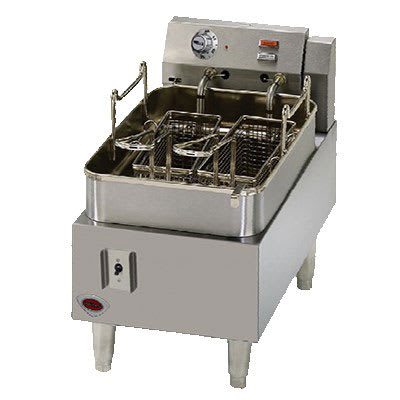 Wells F-15 Countertop Electric Fryer - (1) 15 lb Vat, 208 240v/1ph
