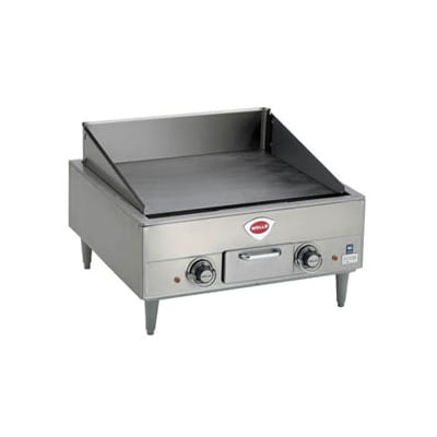 "Wells G-13 23"" Electric Griddle - Manual, 1/2"" Steel Plate, 208 240v/3ph"