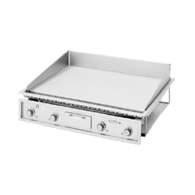 "Wells G-23 34.25"" Electric Griddle - Thermostatic, 1"" Steel Plate, 240v/1ph"