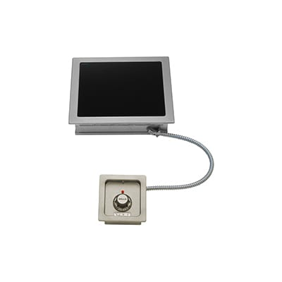 "Wells HC-1006 12.63"" Electric Hotplate w/ (1) Burner & Infinite Controls, 120v"