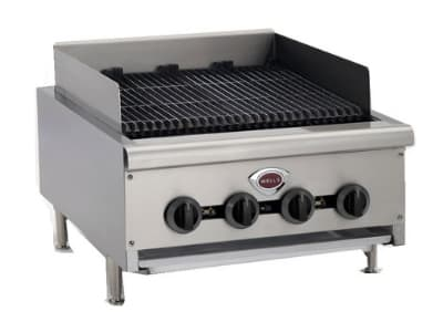 """Wells HDCB4830G 48"""" Radiant Charbroiler w/ Cast Iron Grates, LP/NG"""