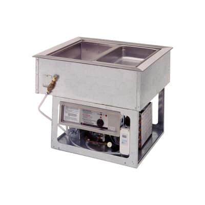Wells HRCP-7400 Drop-In Hot & Cold Food Well w/ (4) Full Size Pan Capacity, 208 240v/1ph