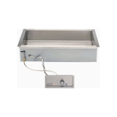 Wells HT-400AF Drop-In Hot Food Well w/ (2) Full Size Pan Capacity, 208-240v/3ph
