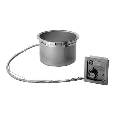 Wells HW-106D 11 qt Drop-In Soup Warmer w/ Thermostatic Controls, 208 240v/1ph