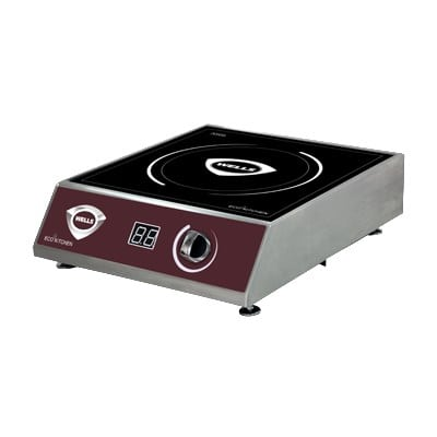 Wells ISC25 Countertop Commercial Induction Range w/ (1) Burner, 208-240v/1ph