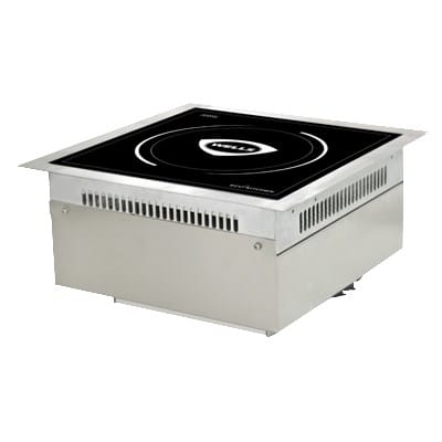 Wells ISDI35 Drop-In Commercial Induction Range w/ (1) Burner, 208-240v/1ph