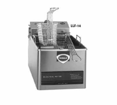 Wells LLF-14 Countertop Electric Fryer - (1) 14-lb Vat,120v