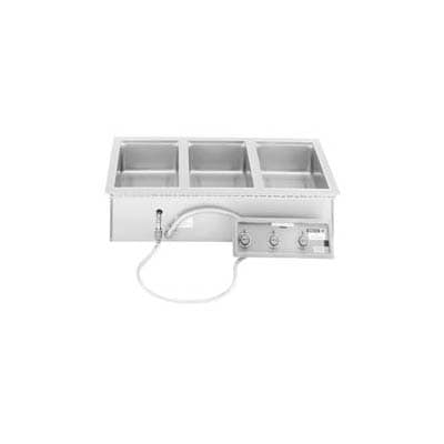 Wells MOD-327TDM/AF Drop-In Hot Food Well w/ (12) 1/3 Size Pan Capacity, 208 240v/3ph