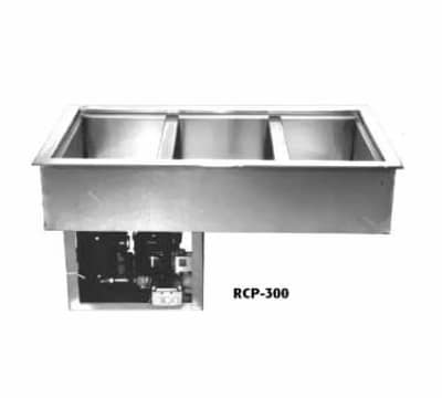 "Wells RCP-100 18"" Drop-In Refrigerator w/ (1) Pan Capacity, Cold Wall Cooled, 115v"