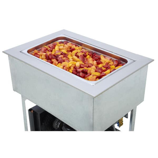 """Wells RCP-7100 20"""" Drop-In Refrigerator w/ (1) Pan Capacity, Cold Wall Cooled, 115v"""