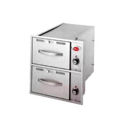 Wells RWN-26 2 Drawer Narrow Warming Unit For Built In Use, 120 V
