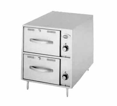 Wells RWN-3 3-Drawer Narrow Warming Unit w/ Humidity & Thermostat Controls, 208v/1ph