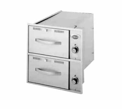 Wells RWN-36 3 Drawer Narrow Warming Unit For Built In Use, 120 V