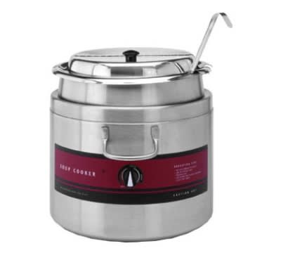 Wells SC6411WA 11 qt Countertop Soup Warmer w/ Thermostatic Controls, 120v