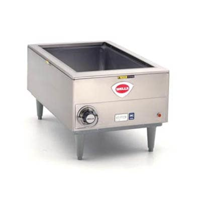 Wells SMPT Countertop Food Warmer w/ (1) Full Size Pan Capacity, 208 240v/1ph