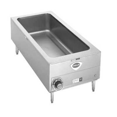 Wells SMPT-27 Countertop Food Warmer w/ (4) 1/3 Size Pan Capacity, 208 240v/1ph