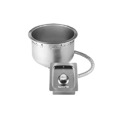 Wells SS-10TDU-120-QS 11 qt Drop-In Soup Warmer w/ Thermostatic Controls, 120v
