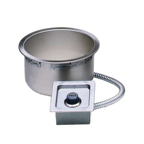 Wells SS-10TDU-QS 11 qt Drop-In Soup Warmer w/ Thermostatic Controls, 208 240v/1ph