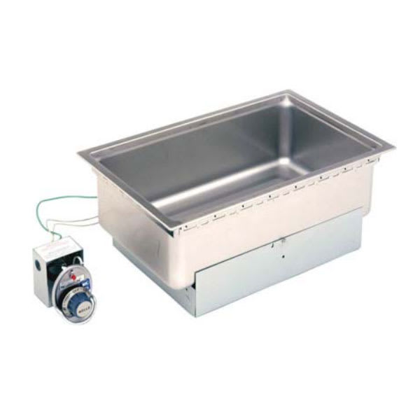 """Wells SS-206TDU Built-In Food Warmer w/ Drain, 12""""x20"""" Pan Opening, Thermostatic, 208 240v/1ph"""