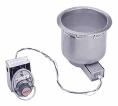Wells SS-8TD 7-qt Round Food Warmer w/ Thermostatic Control, Drain, 208/240/1 V