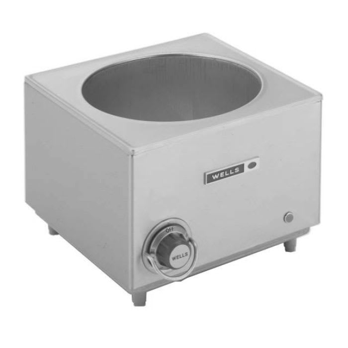 Wells SW-10T 11-qt Countertop Soup Warmer - Thermostatic, 120v