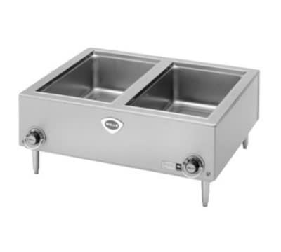 """Wells TMPT-D Countertop Food Warmer, (2) 12 X 20"""" Pans, 208/240/1 V"""