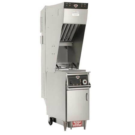 Wells WVAE-55F Electric Fryer - (1) 55-lb Vat, Floor Model, 208v/1ph