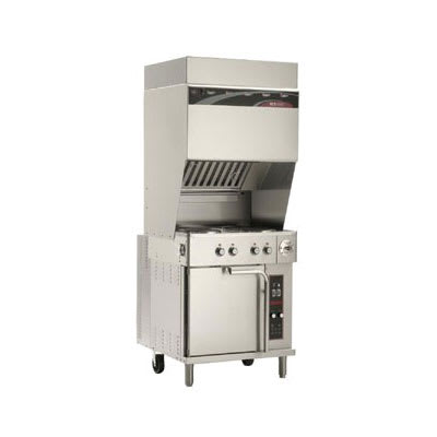 "Wells WVO-4HF 42"" Electric Range w/ Griddle & (4) French Plates, 208v/3ph"