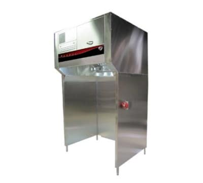 "Wells WVU-48 48"" Ventless Hood w/ 4 Stage Filtration w/ Stand"