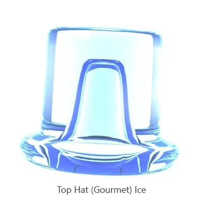 115V//60//1 Hoshizaki AM-50BAE Undercounter Top Hat Ice Maker