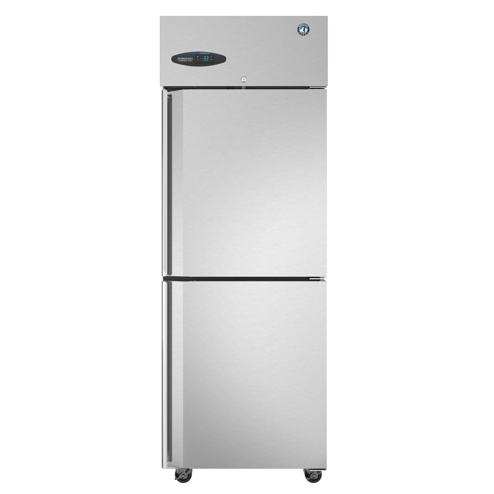 "Hoshizaki CF1S-HS 27.5"" Single Section Reach-In Freezer, (2) Solid Doors, 115v"