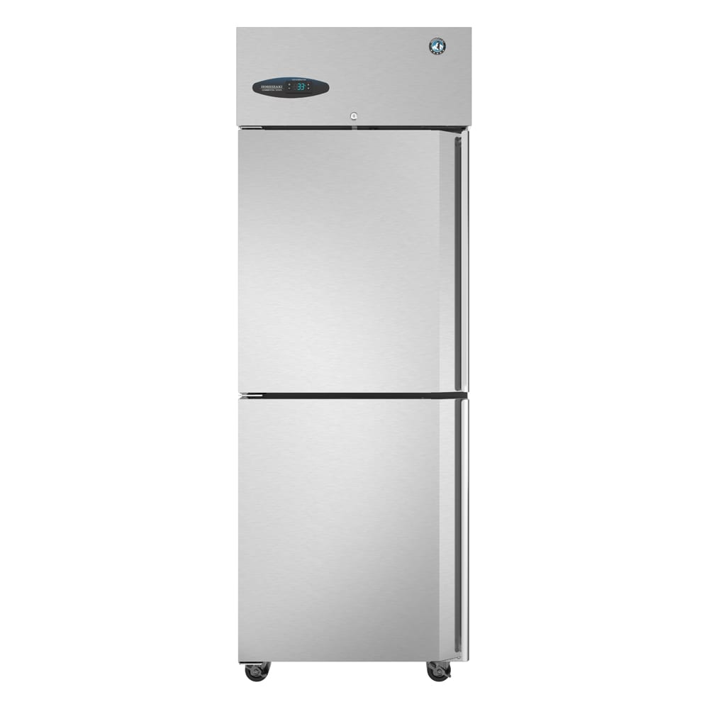 "Hoshizaki CF1S-HSL 27.5"" Single Section Reach-in Freezer, (2) Solid Doors, 115v"
