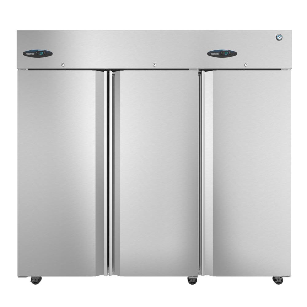 "Hoshizaki CF3S-FS 83"" Three Section Reach-In Freezer, (3) Solid Doors, 115v"