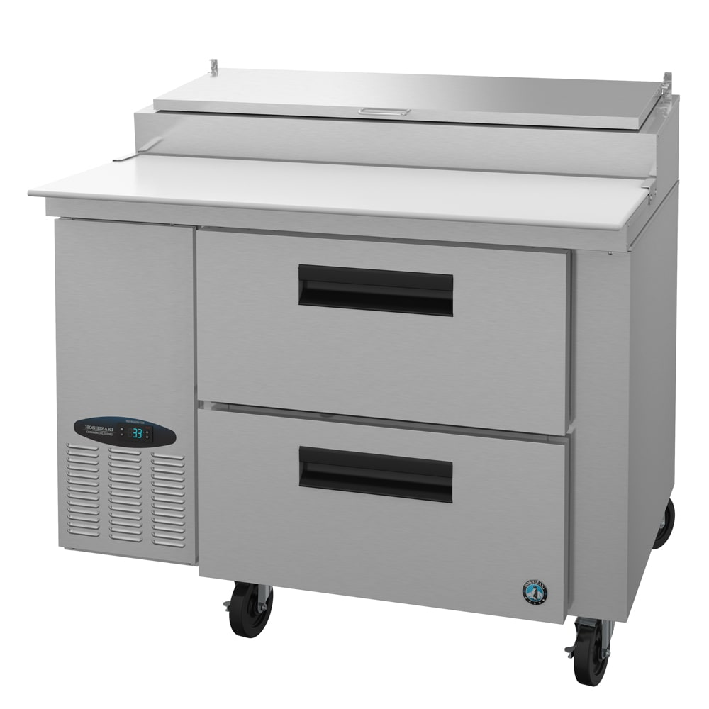 "Hoshizaki CPT46-D 46"" Pizza Prep Table w/ Refrigerated Base, 115v"
