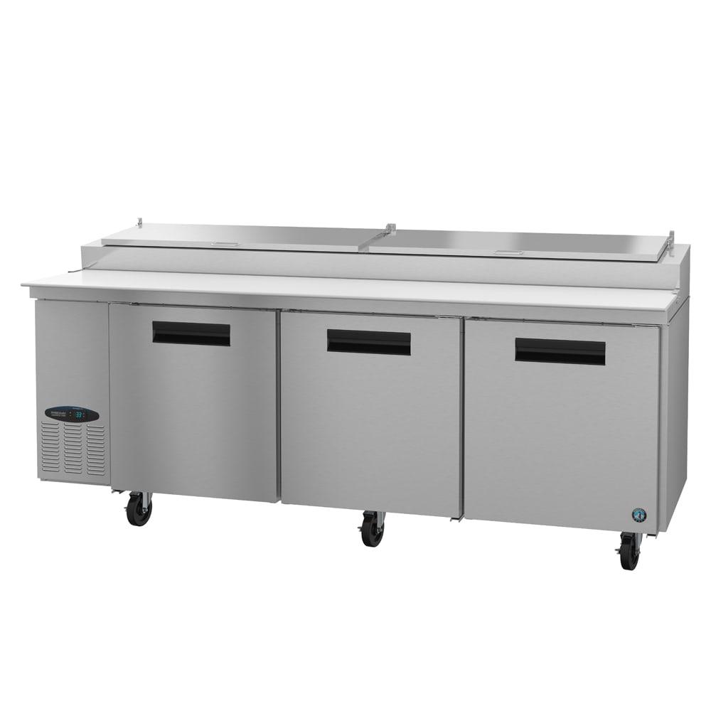 "Hoshizaki CPT93 93"" Pizza Prep Table w/ Refrigerated Base, 115v"
