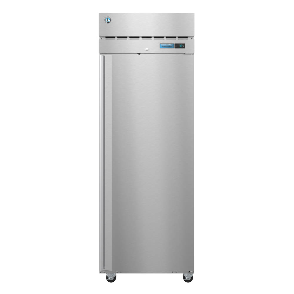 "Hoshizaki CR1S-FS 28"" Single Section Reach-In Refrigerator, (1) Solid Door, 115v"