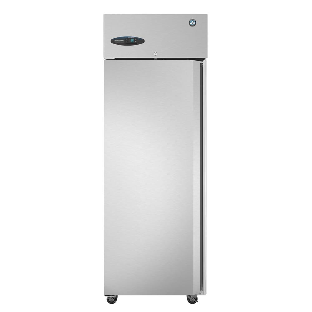 "Hoshizaki CR1S-FSL 28"" Single Section Reach-In Refrigerator, (1) Solid Door, 115v"