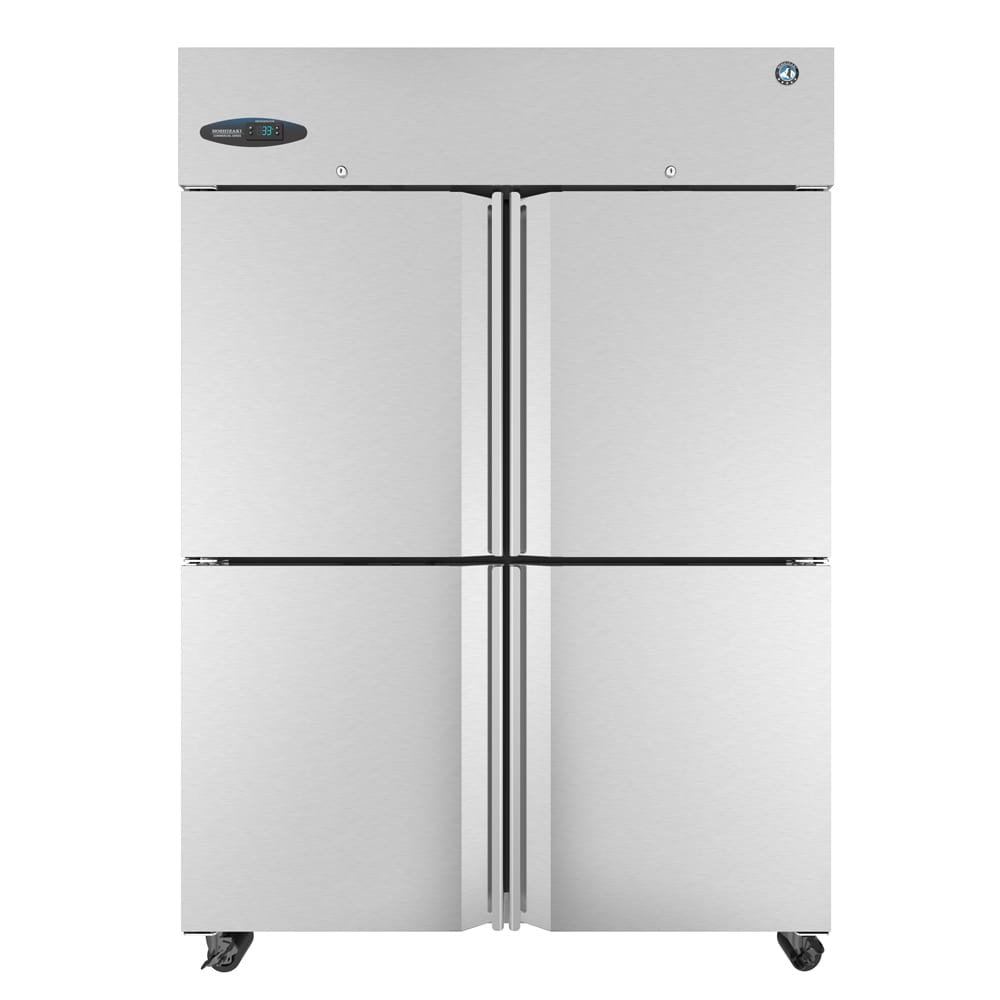"""Hoshizaki CR2S-HS 83"""" Two Section Reach-In Refrigerator, (4) Solid Door, 115v"""