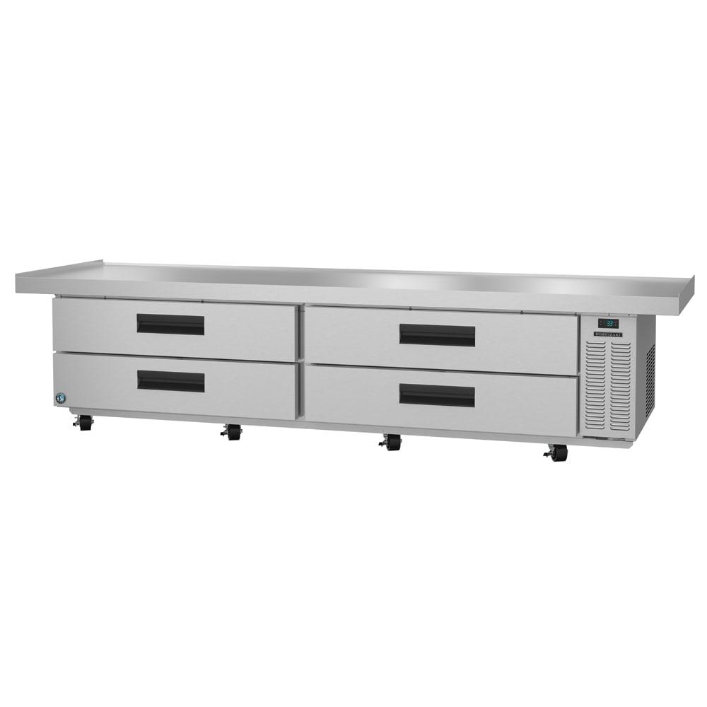 """Hoshizaki CRES110 110.5"""" Chef Base w/ (4) Drawers - 115v"""