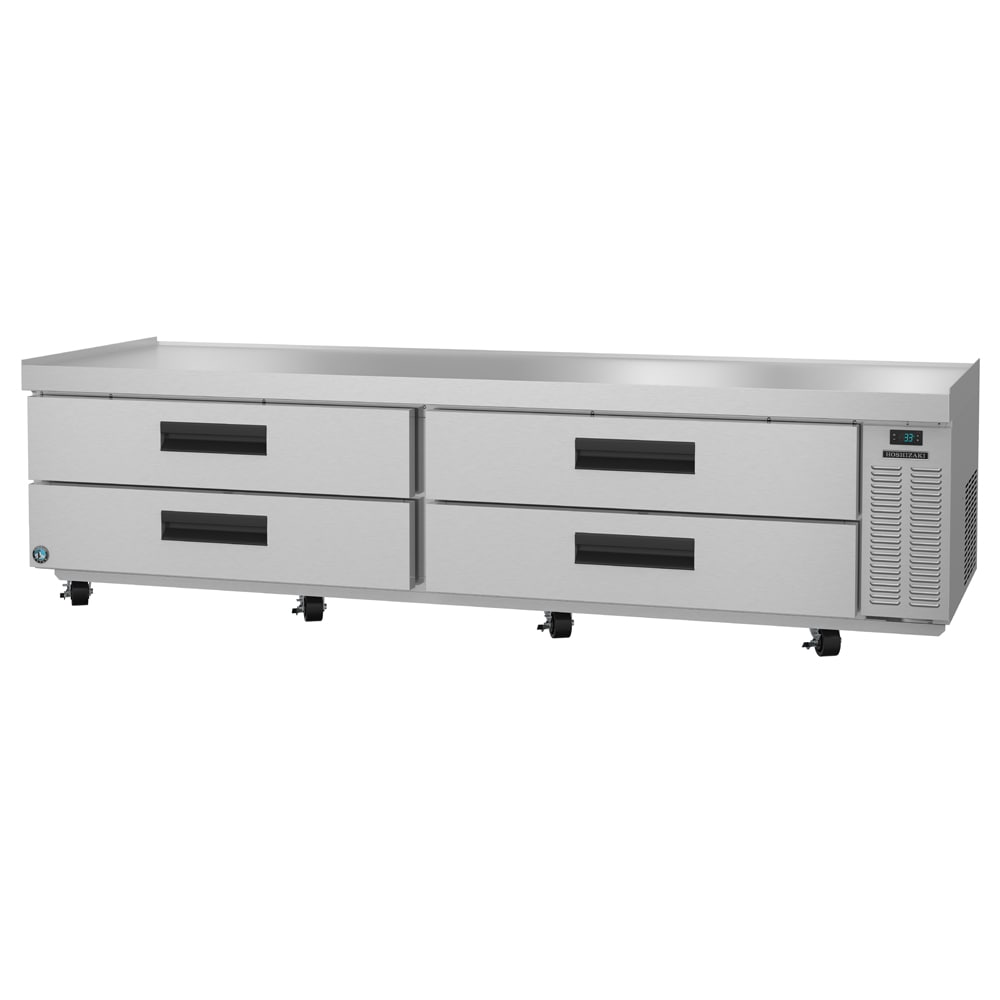 "Hoshizaki CRES98 98"" Chef Base w/ (4) Drawers - 115v"