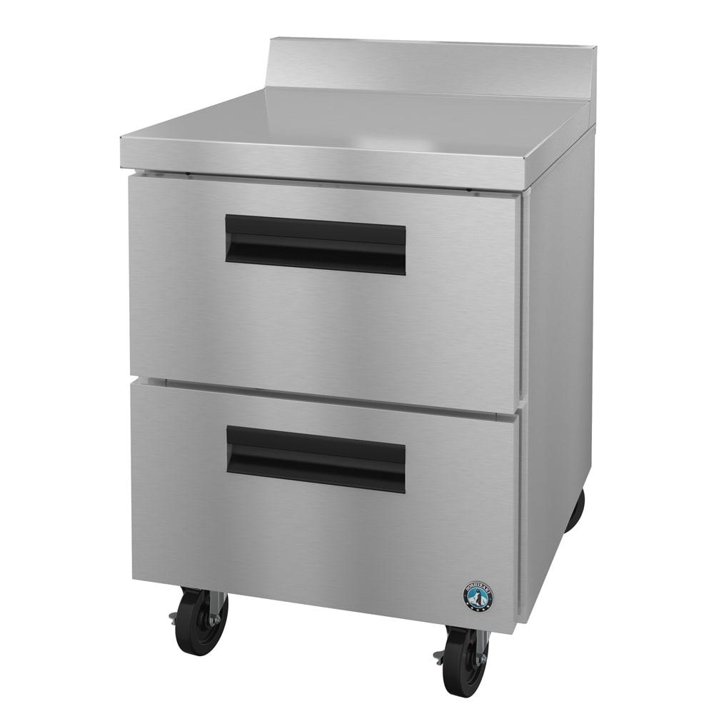 Hoshizaki CRMF27-WD 7.2 cu ft Worktop Freezer w/ (1) Section & (2) Drawers, 115v
