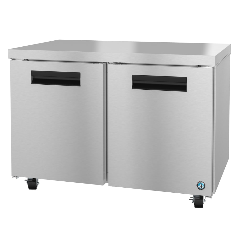 Hoshizaki CRMF48 13.66-cu ft Undercounter Freezer w/ (2) Sections & (2) Doors, 115v