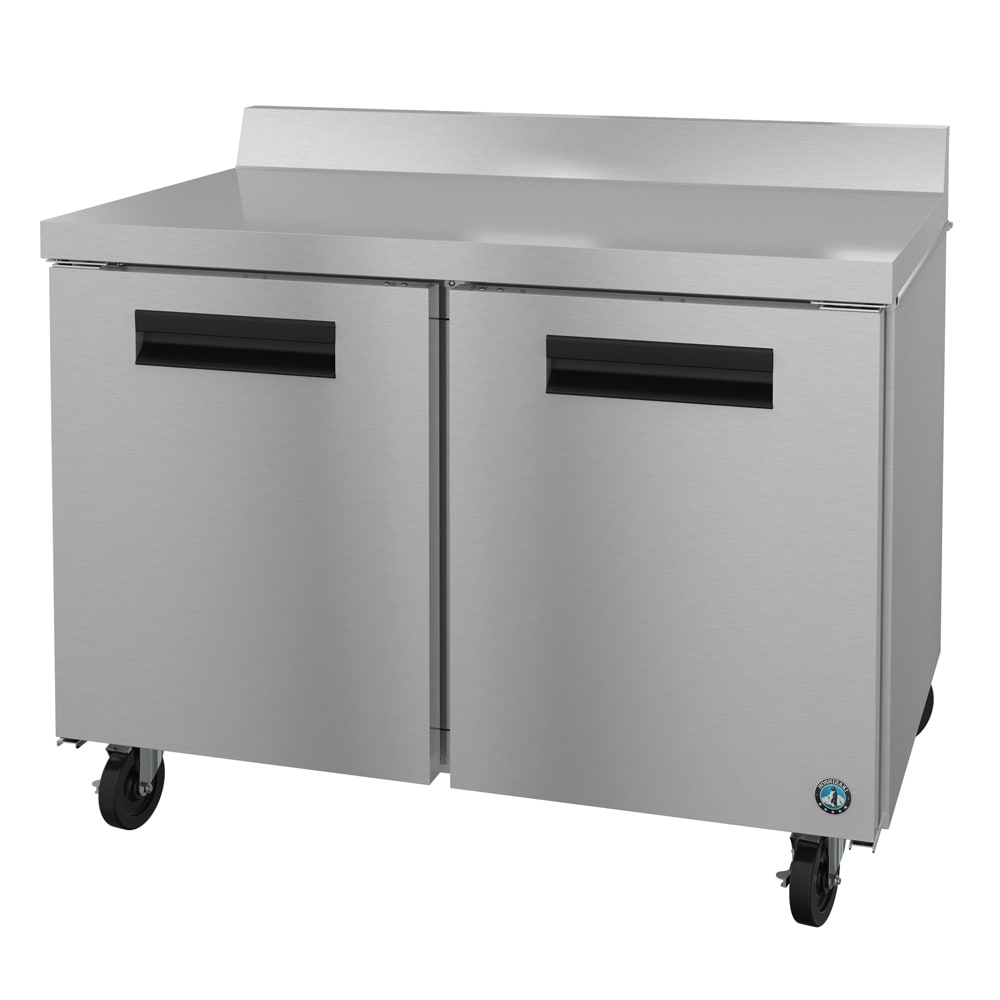 Hoshizaki CRMF48-W 13.66-cu ft Worktop Freezer w/ (2) Sections & (2) Doors, 115v