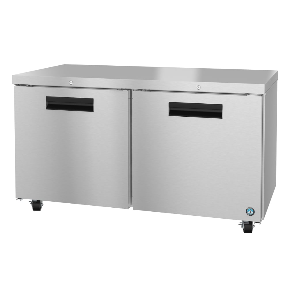 Hoshizaki CRMF60-01 17.55 cu ft Undercounter Freezer w/ (2) Sections & (2) Doors, 115v