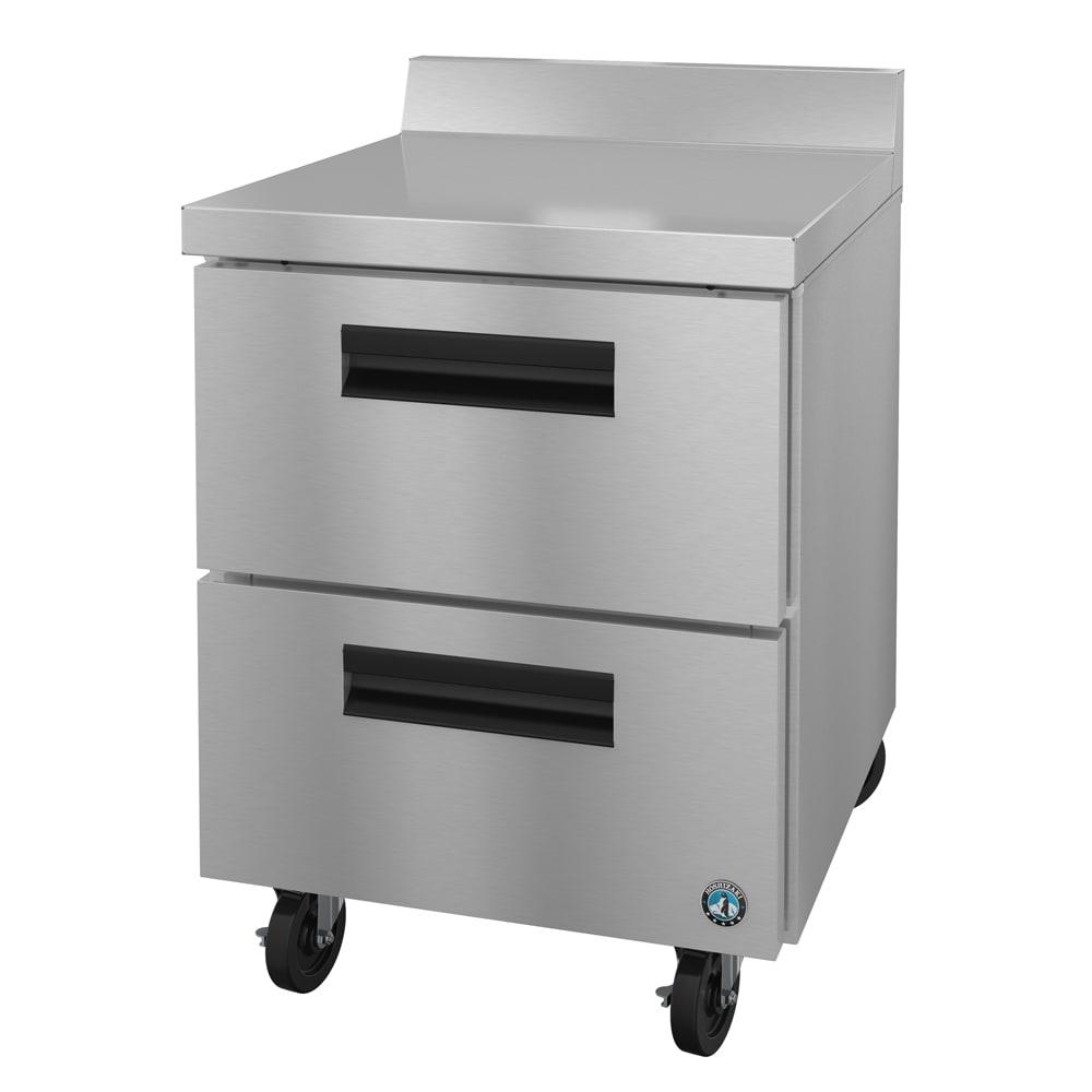 "Hoshizaki CRMR27-WD 27"" Worktop Refrigerator w/ (1) Section, 115v"
