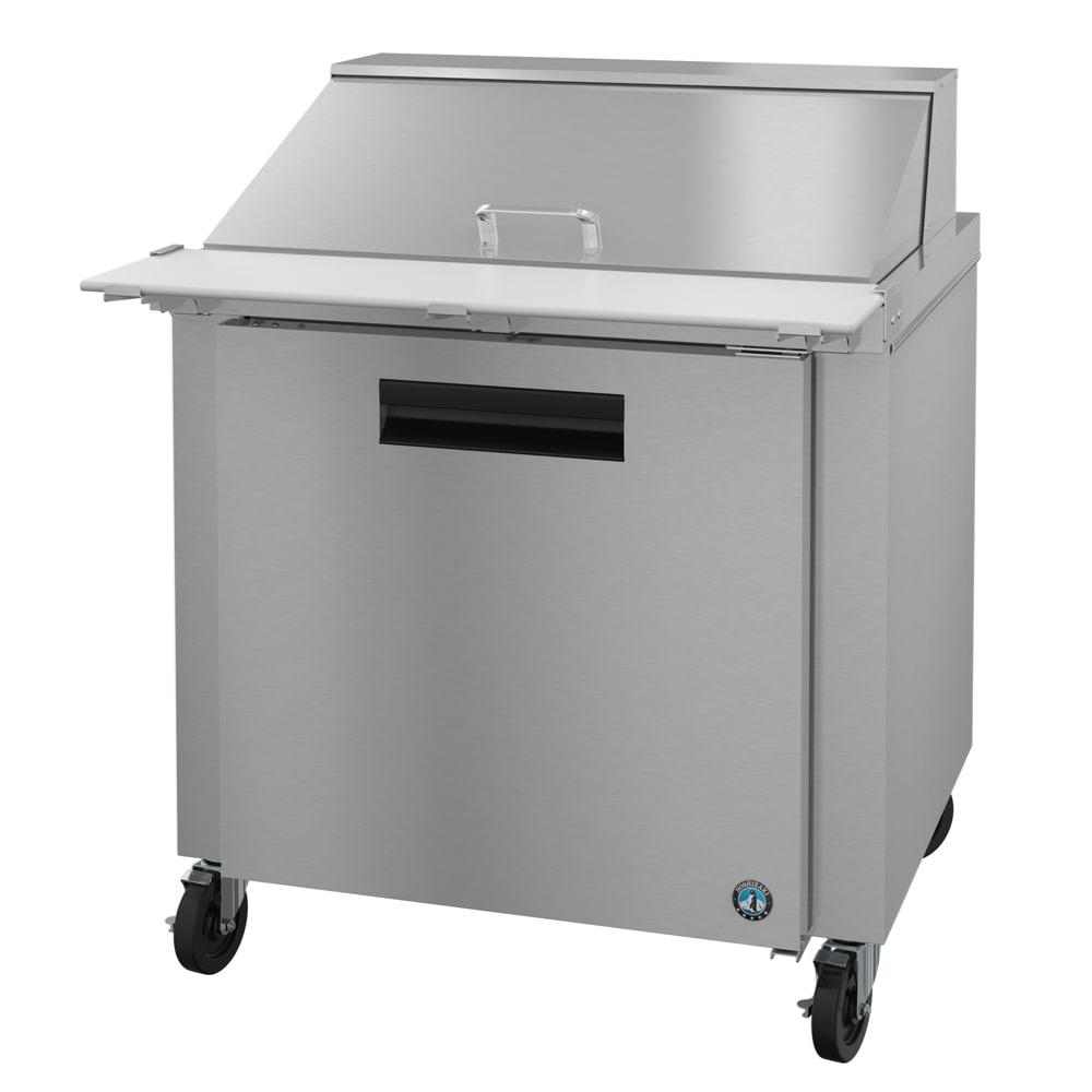 "Hoshizaki CRMR36-15M 36"" Sandwich/Salad Prep Table w/ Refrigerated Base, 115v"